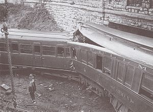 Sevenoaks railway accident - Image: Accident ferroviaire de Sevenoaks voiture Pullman