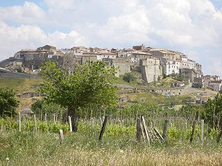 Acerenza Comune in Basilicata, Italy