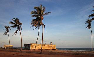 Ada Foah District Capital in Greater Accra Region, Ghana