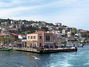 Burgazada - Ferry port of Burgazada
