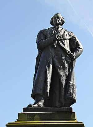 John Hutchison (sculptor) - Statue of Adam Black in Princes Street Gardens