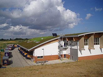 Adnams Brewery - Adnams distribution centre opened in 2006.