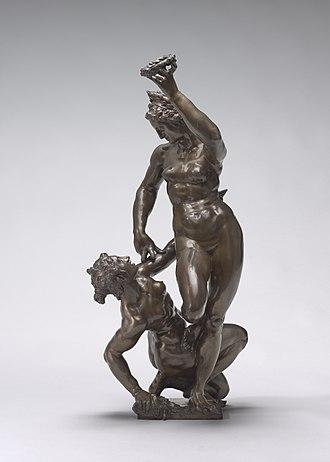 Adriaen de Vries - Empire Triumphant over Avarice, 1610, National Gallery of Art