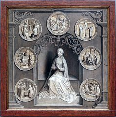 Our Lady of the Seven Sorrows (grisaille)