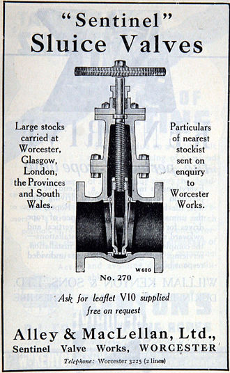 Alley & MacLellan Ltd - Image: Advert Alley & Mac Lellan 1943