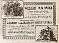 Advertisement Wojciech Jabłoński stonemason (1914).JPG