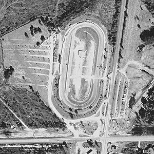 New Smyrna Speedway - Image: Aerial New Smyrna Speedway