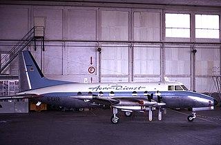1960s executive transport aircraft by Potez