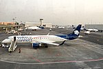 Aeromexico Connect E190 and ramp @ MEX (34337729651).jpg