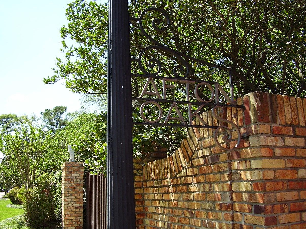 River Oaks Texas >> Afton Oaks, Houston - Wikipedia