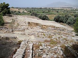 Hagia Triada - Archaeological site of Agia Triada
