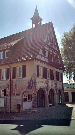 Aichwald Aichschieß Rathaus 2020 07 23 b