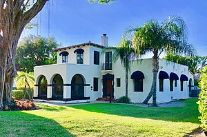 National Register of Historic Places listings in Palm Beach County, Florida - Image: Aiken house boca