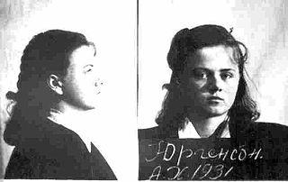 Aili Jõgi Estonian resistance fighter