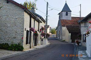 Ailleville - Image: Ailleville Street