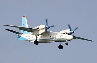 Antonov An-32 Airliner and military tactical transport aircraft by Antonov