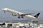 Air China B777-39LER (B-2032) departing Los Angeles International Airport.jpg