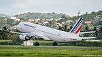 Air France A320-214 (F-GKXQ) taking off.jpg