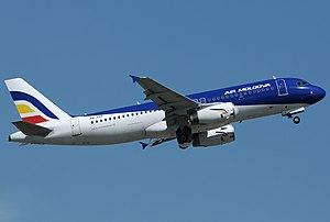 Air Moldova - Air Moldova Airbus A320-200