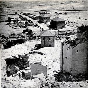 Auja al-Hafir - Image: Al Auja before 1956
