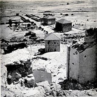 Auja al-Hafir Place in Beersheba, Mandatory Palestine