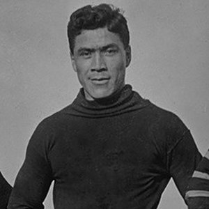 1907 College Football All-America Team - Albert Exendine of Carlisle.