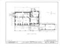 Albert Van Voorhis House, Maple and Franklin Avenues, Wyckoff, Bergen County, NJ HABS NJ,2-WYCK,1- (sheet 6 of 18).png