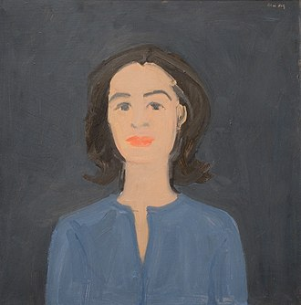 Paul Taylor (choreographer) - Alex Katz, Ada on Blue, 1959
