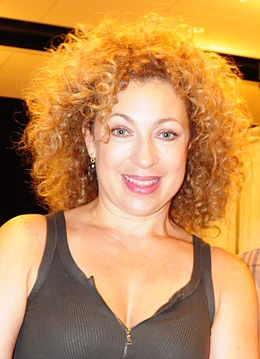 Alex Kingston vuonna 2012.