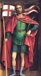 Alexander of Bergamo patron saint of Bergamo, Capriate San Gervasio, and Cervignano dAdda