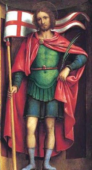 Alexander of Bergamo - Alexander of Bergamo, Bernardino Luini, ca. 1525.