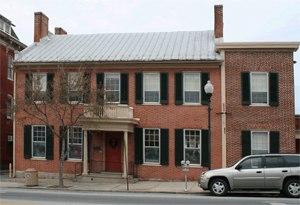Alexander Hamilton House - Alexander Hamilton Memorial Free Library