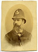 Alexander David Stewart, Police Chief, Mayor of Hamilton and Adventurer. Died of scurvy on his way to look for gold in the Yukon. (1886) (14311095398).jpg