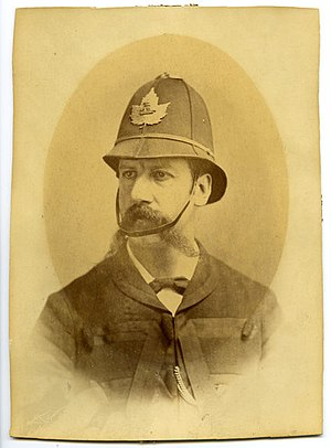 Alexander David Stewart - Image: Alexander David Stewart, Police Chief, Mayor of Hamilton and Adventurer. Died of scurvy on his way to look for gold in the Yukon. (1886) (14311095398)