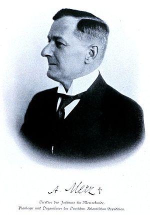 Alfred Merz - Image: Alfred Merz