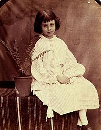 Alice Liddell par Charles Dodgson