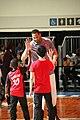 All-Star Game Weekend Robert Horry giving Hi5s at NBA All-Star Center Court 2016 (24407301324).jpg