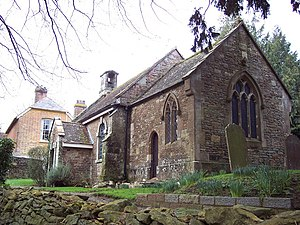 Fifehead Neville - Image: All Saints Church, Fifehead Neville geograph.org.uk 336392