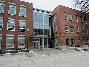 University of Oregon School of Journalism and Communication - Allen Hall, the main building of SOJC