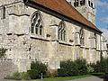 Allonne (60), église Notre-Dame de l'Annonciation, flanc sud 2.JPG