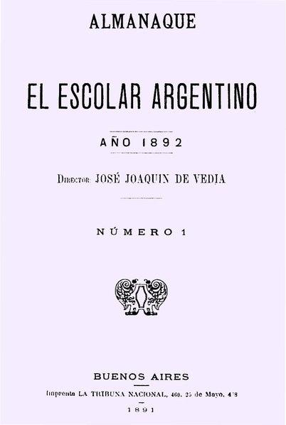 File:Almanaque El Escolar Argentino 1892 - nro1.pdf