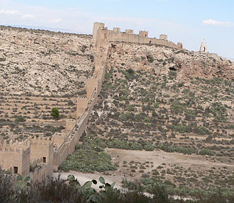 Almería - The ancient walls of Jayrán