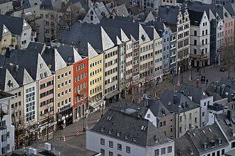 Innenstadt, Cologne - Alter Markt, square in Altstadt-Nord