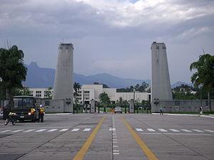 Academia Militar das Agulhas Negras - AMAN gates.
