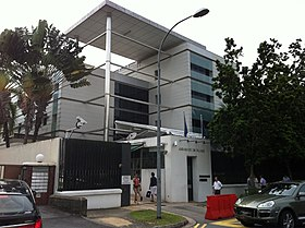 Ambassade De France A Singapour Wikipedia