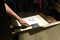 Amsterdam - Rembrandt House Museum, printing studio 02.JPG
