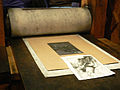 Amsterdam - Rembrandt House Museum, printing studio 12.JPG