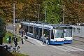 Amsterdam Amstel Trams 2129 en 2084 beide als lijn 12 (14955538673).jpg