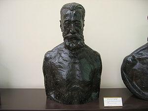 Buste d'Anatole France - Par le sculpteur Emil...