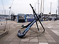 Anchors at Ocean Village - geograph.org.uk - 794252.jpg